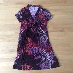 Authentic Tahari Jersey Dress L